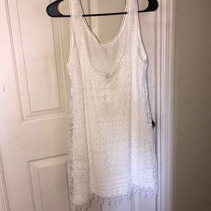 H&M Dresses - 🆕H&M white dress, super cute, NWT!